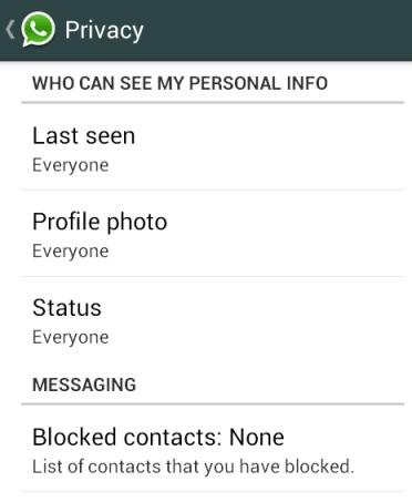 WAY TO Hide WhatsApp Last Seen, Profile Photo and Status